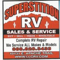 Superstition RV Logo