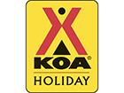 Logan/Hocking Hills KOA Logo