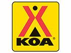 Kinzua East KOA Logo