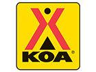 Flaming Gorge/Manila KOA Logo