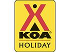 Denver East/Strasburg KOA Logo