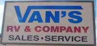 Vans RV Trailer Company Logo