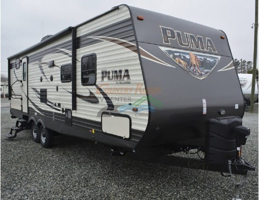 puma 40 foot pull behind trailer