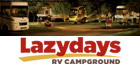 Lazydays RV Campground Logo