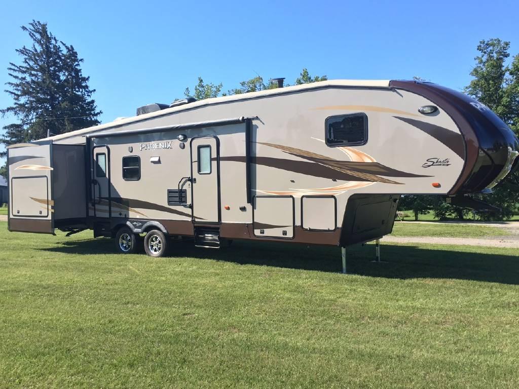 used shasta fifth wheel trailers for sale. Black Bedroom Furniture Sets. Home Design Ideas