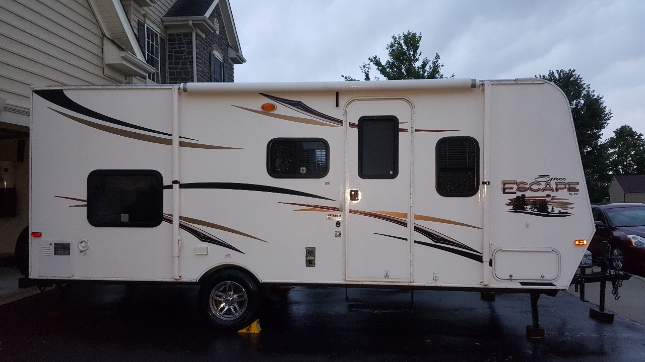 2013 Escape 161rb Kzrv Rvs Electrical Wiring In The Home 30 Amp Rv Temporary Hookup Pvc
