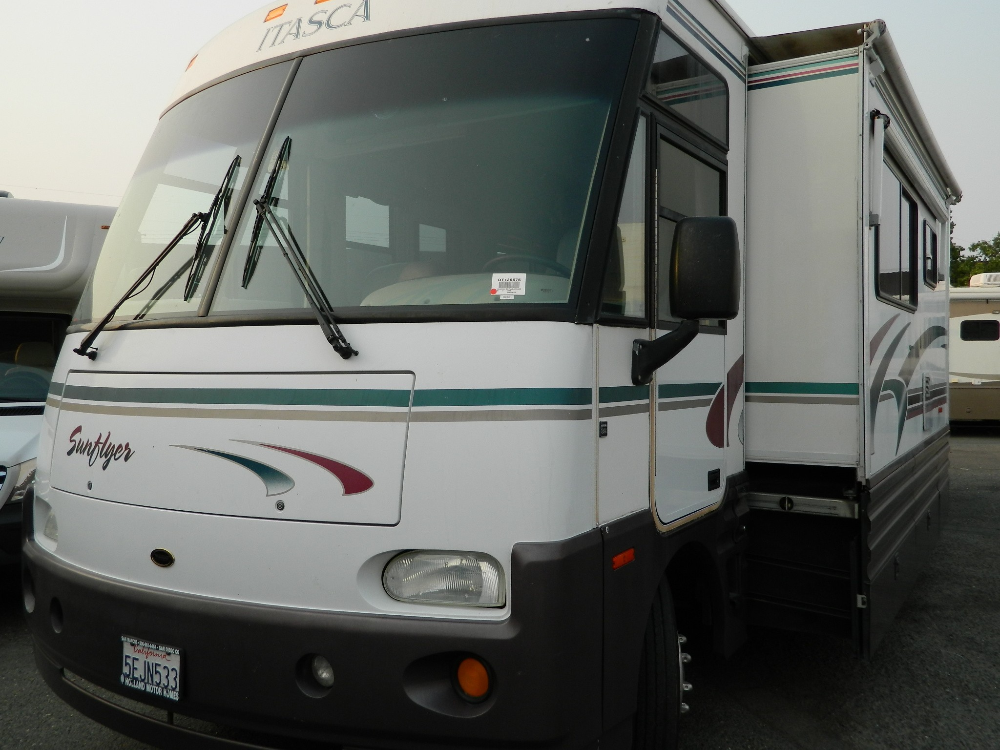 1999 Winnebago Itasca Sunflyer 36l Diesel Pusher With