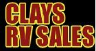 Clay's RV & Powersports Logo