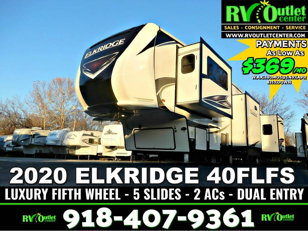 Rv Sales Tulsa >> 2020 Heartland Elkridge 40flfs For Sale In Tulsa Ok Rv Trader