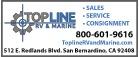 Topline RV & Marine Logo