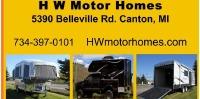 HW Motor Homes Logo