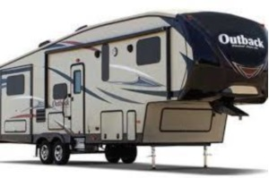 33' Outback Fifth Wheel With Bunk Beds & 3 Slide-Outs (T20)-0