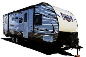 26' Forest River Wildwood W/Bunk Beds and Slide-Out (T27)-0