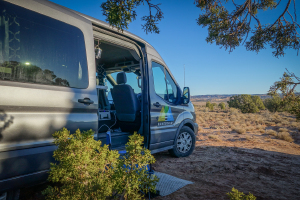 Spacious Heated Campervan You Can Stand In M (Sleeps 2) Check Dates for Pricing! (M2)-0