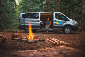 Heated Small Wandervan (Sleeps 2) - Check Dates for Price-0