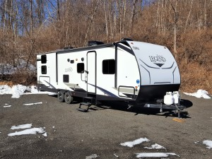 2021 30' Surveyor Bunk House Travel Trailer T30044 -0