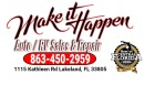 Make It Happen RV Sales Logo