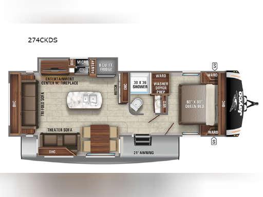 Eagle Ht 274ckds For Sale Jayco Rvs Rv Trader