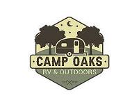 Camp Oaks RV & Outdoors Logo